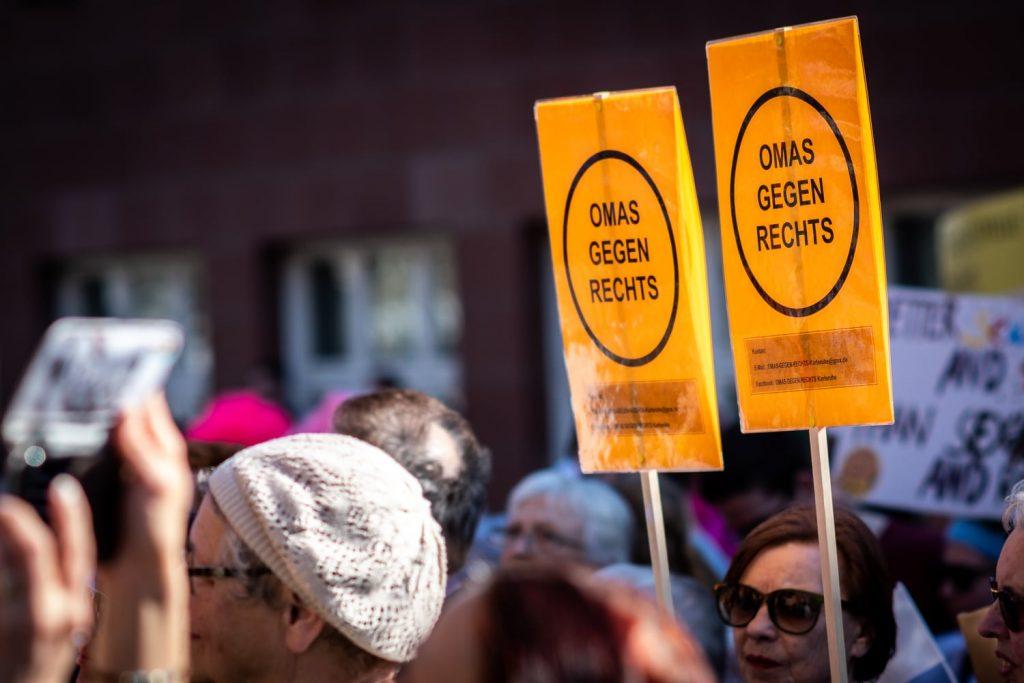 Demo Karlsruhe mit Recht gegen Rassismus
